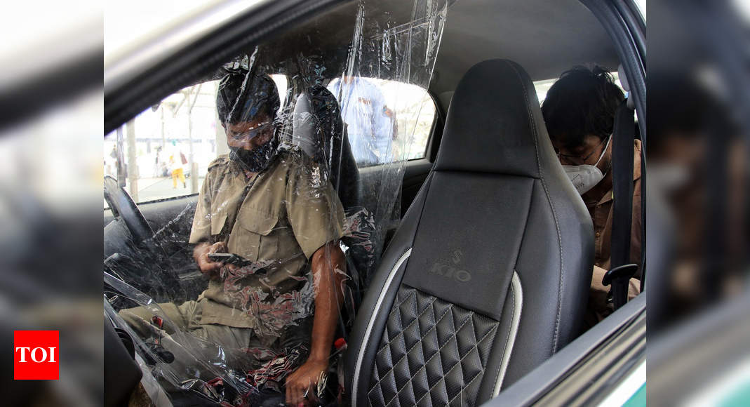 Uber partners with Delhi airport to sanitise cabs before trips | Delhi News