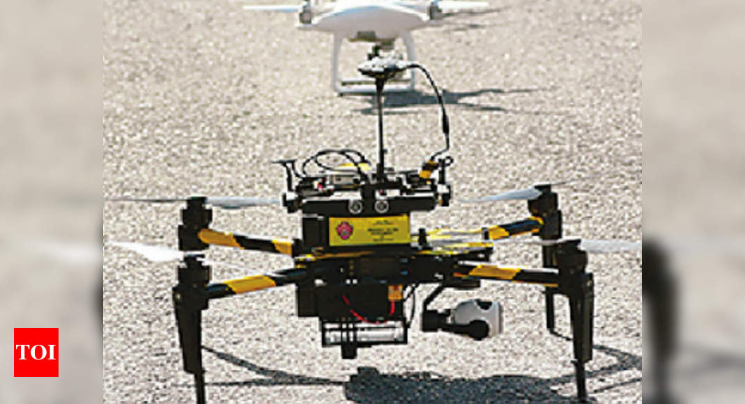 Drones to map property, assets of all villages in Rajasthan | Jaipur News