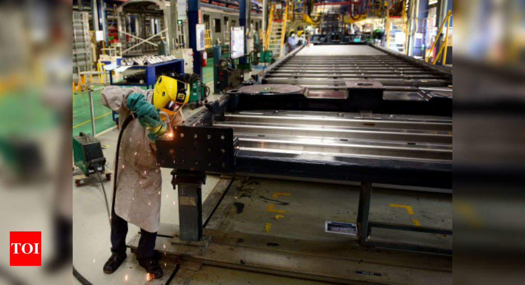Industrial production declines 10.4% in July