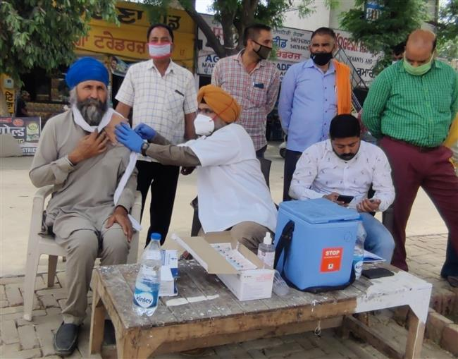 More than 6000 persons took jab of Covid vaccine in state Mandis
