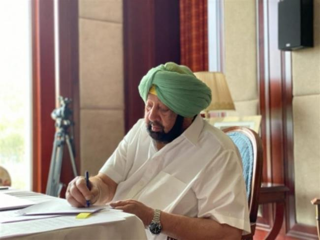 Punjab CM writes to Union Health Minister for ensuring uninterrup